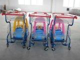 مغازة كبرى أطفال جدي بلاستيكيّة تسوق حامل متحرّك ([هب-ك-1])