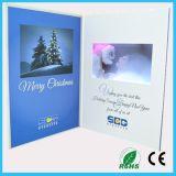 7 LCD van de Woorden van de Eenheid van de duim de VideoKaart van de Uitnodiging van het Huwelijk