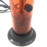 Elektronischer rauchender roter Aromatherapy Kräutervaporizer mit LED-heller Einstellung (ES-HS-003)