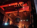 Fonderie, bâti, pont roulant de poche pour l'aciérie