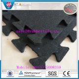 Stuoia di gomma di collegamento per le soste, lastricatore di gomma della pavimentazione delle mattonelle