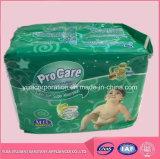 Pulsar a cinta de los PP del pañal buen Absorpency para el bebé