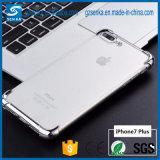 Caso a prueba de choques suave de TPU para la caja del teléfono del iPhone 6/6s Electropalting