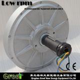generador de imán permanente axial del flux de 1kw 80rpm para las ventas