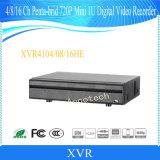 Mini 1u Penta-Brid registrador de Dahua 4channel 720p (XVR4104HE)