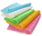 Usine en bambou de fabrication de la Chine de gants de toilette de fibre de vêtements de nettoyeur de cuisine