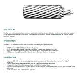 Conduttore di cavo di rinforzo acciaio di alluminio del conduttore ACSR