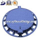 腐敗性タンク排水のためのOEM/Customの鉄か砂型で作るマンホールカバー