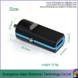 최신 Sale 2 Port USB DC 12V-24V Input Cell Phone Car Charger (S-r17)
