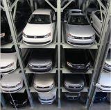 Elevador do carro do sistema do estacionamento do enigma de 4 níveis