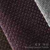 Ultra tissu doucement 100% de velours de polyester pour le sofa