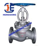 Valvola di globo industriale dell'olio della flangia dell'acciaio inossidabile di ANSI/DIN