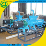 ブタか鶏または牛またはアヒルまたは牛肥料は固体液体の分離器を排水する機械を排水する