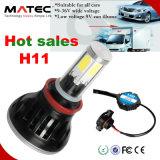 Luz 40W 4000lm H4 del coche de la pista de la lámpara de la viga de la pieza de automóvil LED Hi/Lo del fabricante