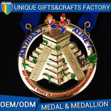 Medaglione su ordinazione dello smalto della medaglia di oro superiore