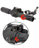 alcance del rifle del arma 2-6X30EL/vistas ópticas con el dispositivo del laser, Cl1-0024