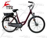 Styleセリウムの女性高品質700cのAlの合金フレーム都市多色刷りのE自転車(JSL036B-6)