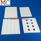 Piastrine di ceramica dell'allumina resistente industriale dell'abrasione