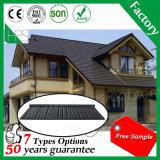 Telha de telhado de aço do zinco de alumínio, folha revestida de pedra da telhadura do metal, material de construção de Guangzhou
