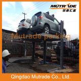 2.3ton sistema del estacionamiento del poste del apilador doble 2