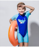 &One-Часть Waterwuit Swimwear втулки материального малыша Lycra короткая