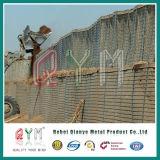 De gelaste Muur van de Ontploffing van het Bastion Hesco/Behoudende Muur Hesco