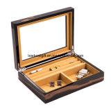 Caja de almacenamiento de joyas decorativas joyas de mancuerna