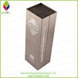 Vakje van de Wijn van de Gift van het Document van de luxe het Vouwbare Verpakkende met Magneet
