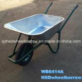 Forte carriola resistente della costruzione della Cina (WB6414A)