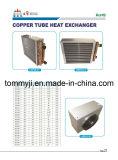 A câmara de ar de cobre Finned de alumínio de suspensão de água quente bobina o calefator da unidade