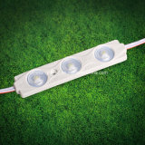 Módulo de la inyección LED del alto brillo 3PCS SMD 2835 para las muestras del rectángulo