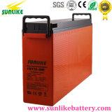 передняя терминальная батарея 12V100ah с сертификатами IEC ISO Ce (FST12-100)