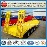 3 Flatbed Semi Aanhangwagen 70ton van de as Lowbed/Lowboy met Ladders