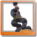 Schöne Wellen-brasilianisches Strahlen-Schwarzes Remy Haar