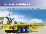 Трейлер контейнера трейлера тележки Sinotruk 40FT Fuwa/BPW 3axle