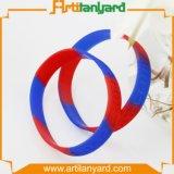 Kundenspezifischer Form-SilikonWristband mit Firmenzeichen