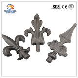 Pista Spearpoint de la lanza de la decoración del hierro labrado