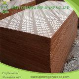 madeira compensada Shuttering enfrentada de 1220X2440X12mm película impermeável em Linyi