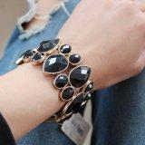 5A Hoogste Kwaliteit 2 van de Fabrikant van juwelen Brede Armbanden van de Stijl van het Bergkristal van de Vrouwen van Kleuren Retro