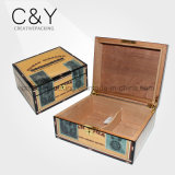 주문 스페인 삼목 목제 여송연 담배 저장 상자