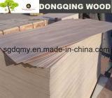 Hoja de la madera contrachapada con madera contrachapada comercial 2m m gruesa de 4m m 1m m