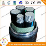 750-4 de Beklede Kabel van het Metaal van het Aluminium W/Grnd