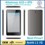 7 tablette bon marché de l'androïde 5.1 800X1280 IPS de Quarte-Faisceau d'Allwinner A33 de pouce