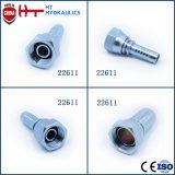 Embout de durites hydraulique d'ajustage de précision de pipe d'acier inoxydable