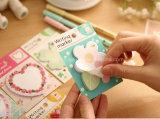 Корейская творческая влюбленность цветет форменный изготовленный на заказ оптовые липкие примечания