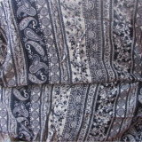 Femmes d'impression vêtant le tissu visqueux de l'usine de textile