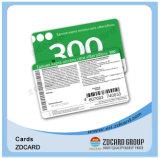 Cartão plástico do cartão do PVC/o conhecido/cartão de chamada