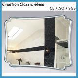 Personalizzato intorno allo specchio d'argento per vestire specchio con il formato differente