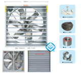 Ventilateur d'extraction industriel de marteau pour la Chambre/serre chaude/atelier de volaille