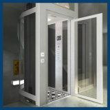 パノラマ式のガラス家の小さいホーム別荘のエレベーター